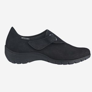 Mephisto Luce Black Suede Comfy Slip-On Shoe 8